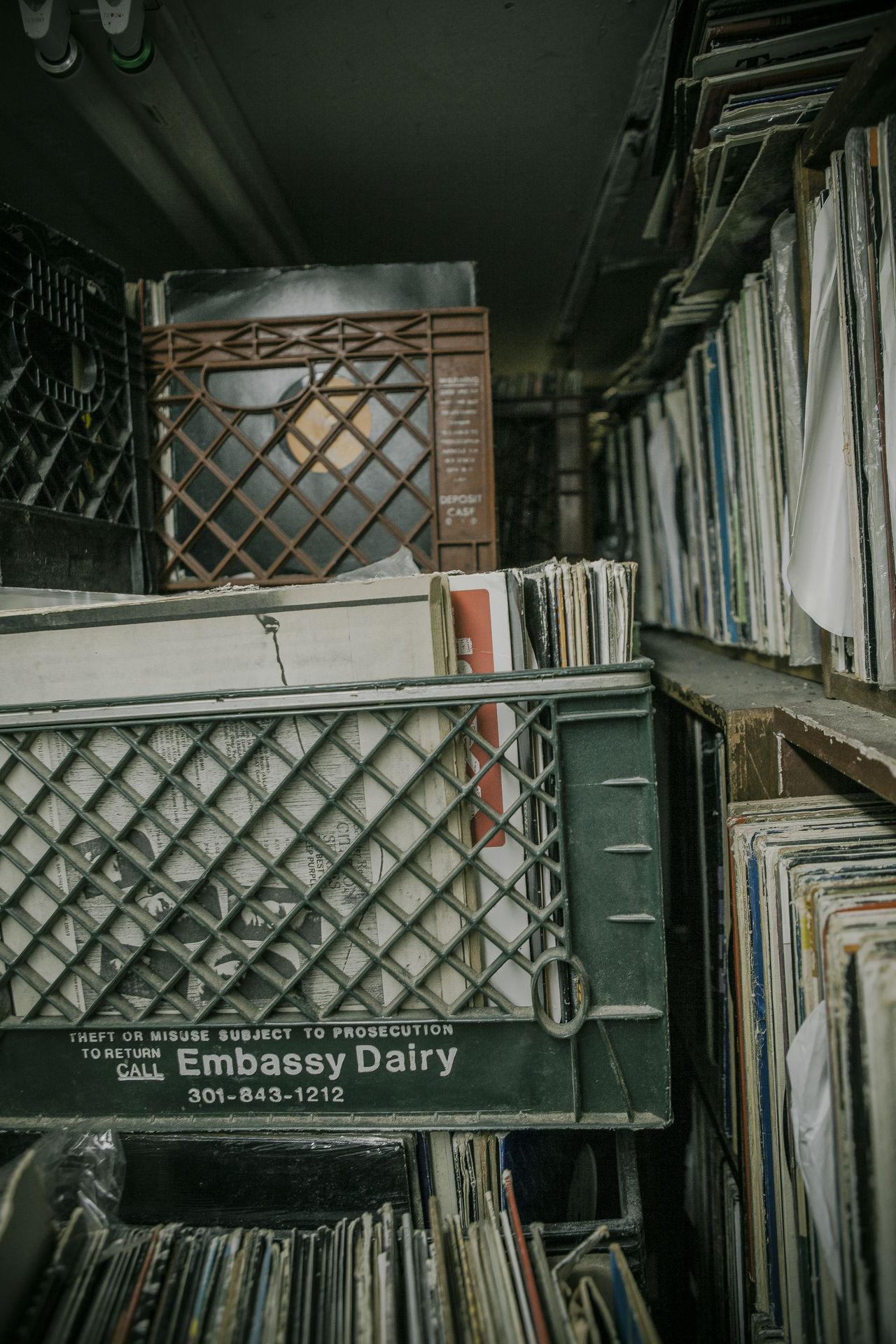 Arrangement Basement Bookshelf Box Boxes Collection Dark Graffiti Hip Hop HipHop Indoors  Large Group Of Objects Neon Lights New York City No People NYC Rap Records Recordstore Shelf Urban Vintage Vinyl