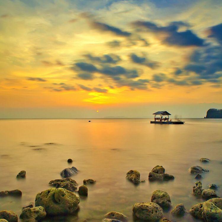 Sea Sunset Lovers Sunset Porn