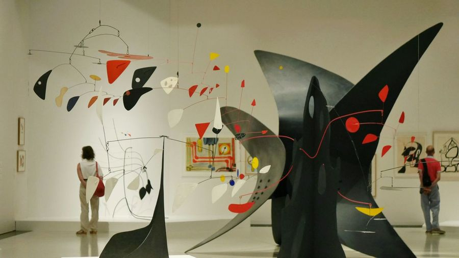 Exposition Calder au Musee Soulages Rodez - Adults Only Artist Sculpture Geometry Creativity Multi Colored Arts Culture And Entertainment Abstrait Art Color Abstractart Rodez Modernart Aveyron Colors Museum Adults Only Indoors  Black Red Painting Painting Art