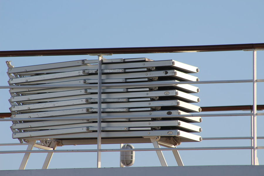 Cruise Cruise Liner Cruise Ship Deck Deck Chair Deckchairs Holiday Material Metal Msc Relax Sea Stack Wooden Deck