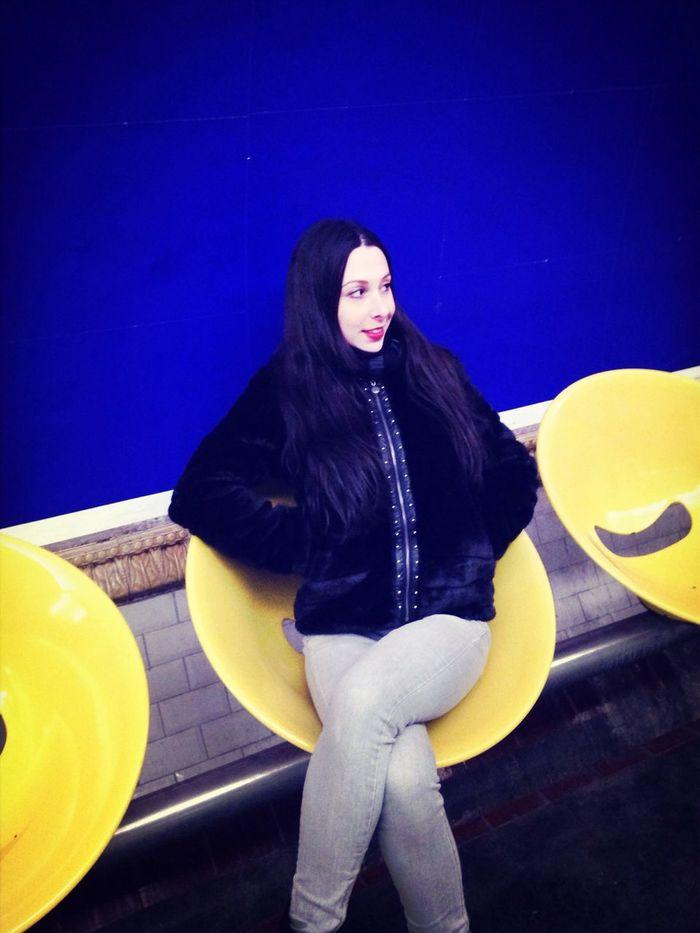 Selfie Paris Metro Moumoute Mouton Metro