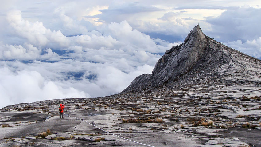 Mount Kinabalu 16:9 Adventure Adventure Club Adventure Photography Beauty In Nature Climbing A Mountain Geology Hiking Landscape Leisure Activity Low's Peak Mount Kinabalu Mount Kinabalu Mountain Mountain Range Nature On The Way Photographer Rock - Object Rock Formation Rocky Mountains Rough Texture Sky Travel Destinations Showcase July The Great Outdoors - 2017 EyeEm Awards