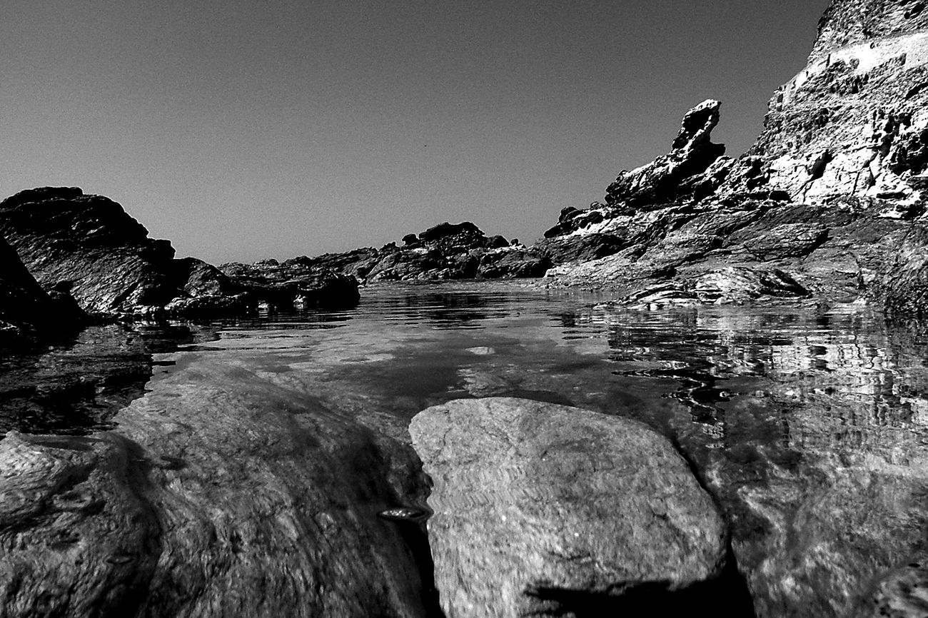 The KIOMI Collection Showcase April Taking Photos Check This Out Hello World Corsica Black And White Collection  Black And White B&w Water Rocks Rocks And Water Corse EyeEm Best Shots Tadaa Community Transparency Clear Water Rocky Beach Nice View Nice Shot Holidays Summertime My Year My View