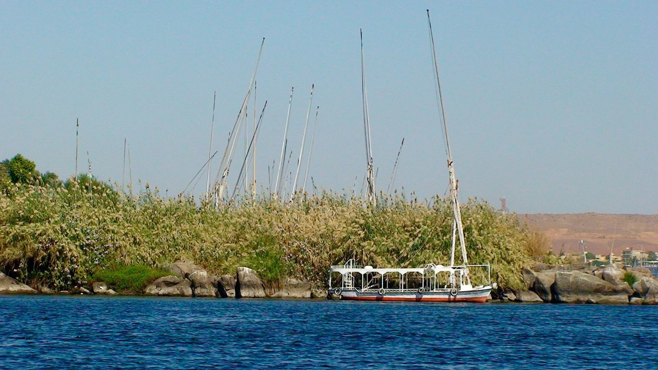 No People River View River Boat Nile River Nile Nile_view Water And Nature Africa Water Egypt Aswan Aswan, Egypt