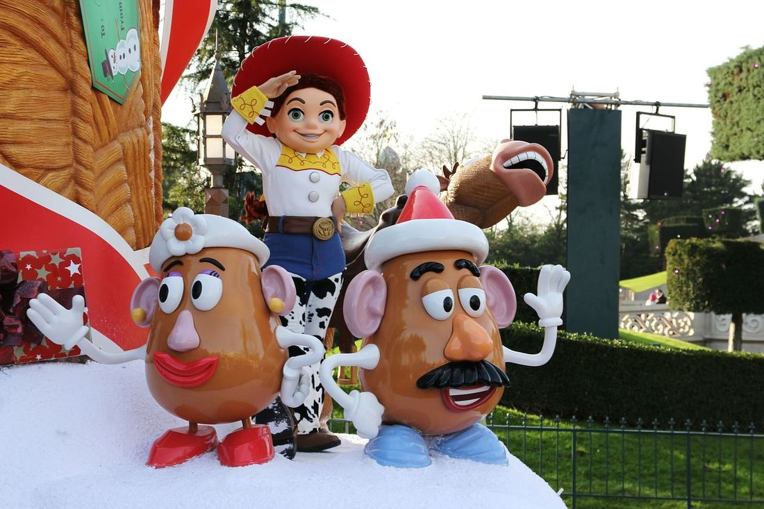 Toy Story Disney Parade Disneyland Paris Toystory Parade Time Disneyland Jessie ToyStory3 ToyStory2 Disneylandparis