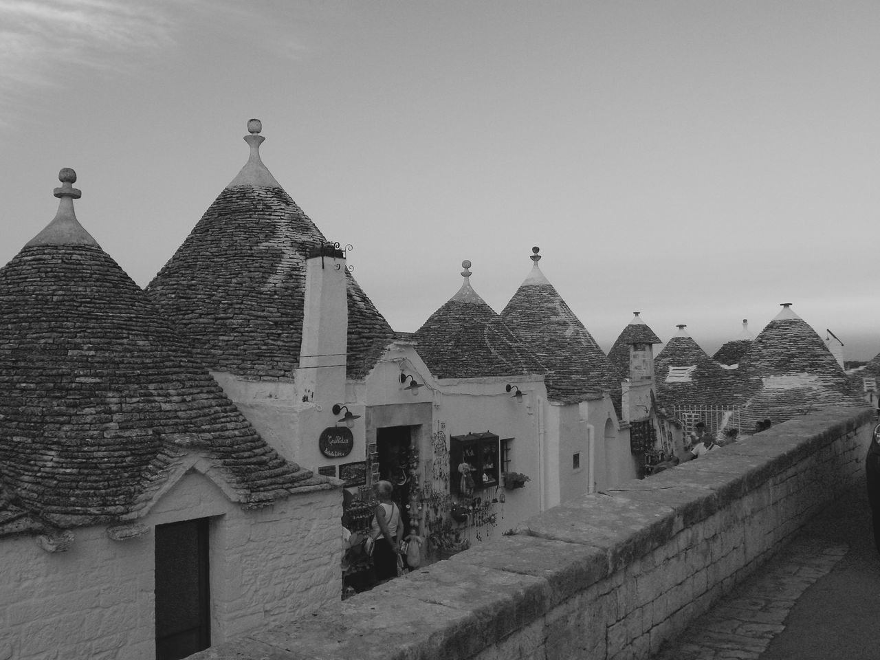 Alberobello Alberobello - Puglia Alberobello City Alberobellocity Alberobelloexperience Alberobellophotocontest Architecture Building Exterior Built Structure Clear Sky Day History No People Outdoors Place Of Worship Sky