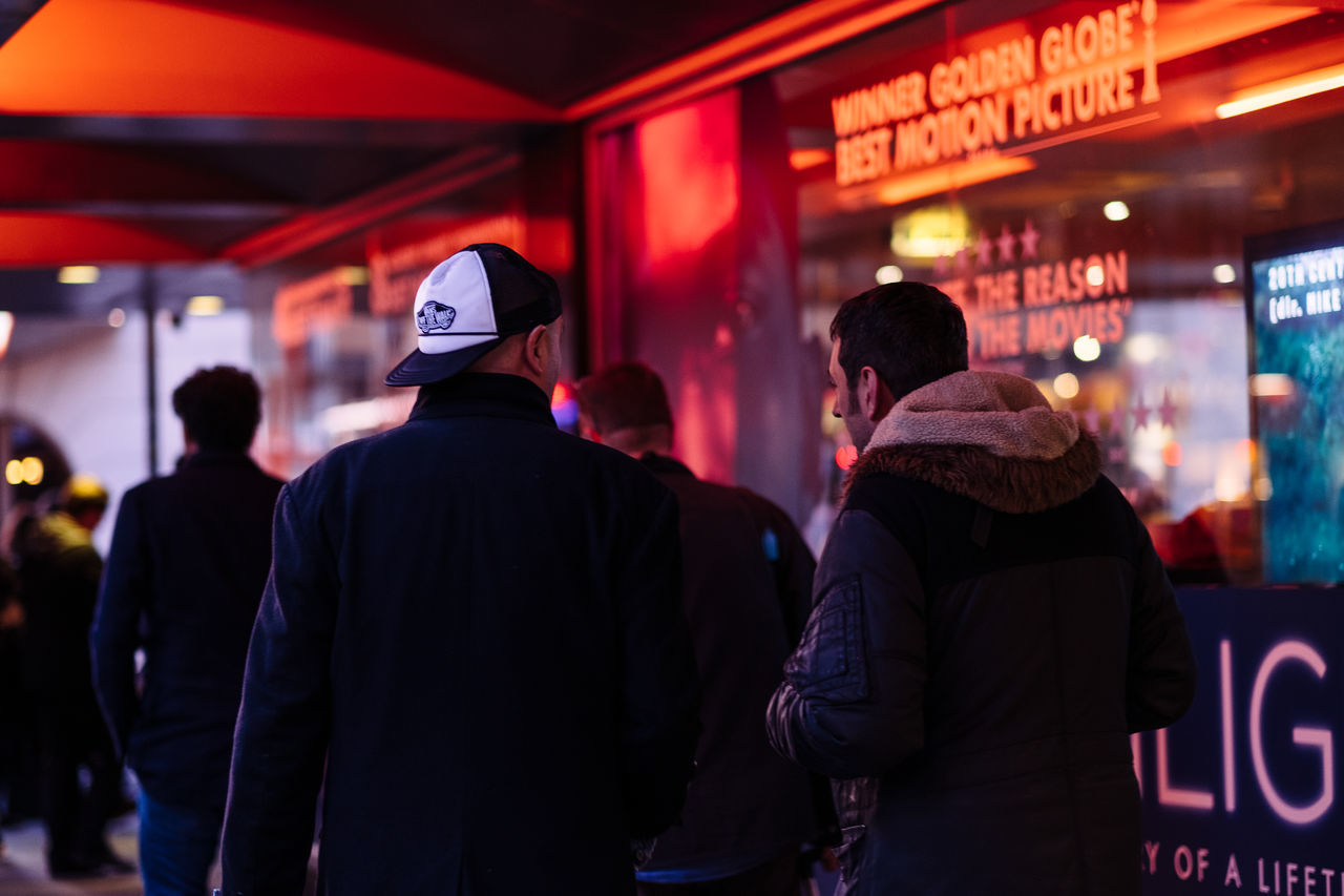 Cinema Cinematic City Lights London Night Street