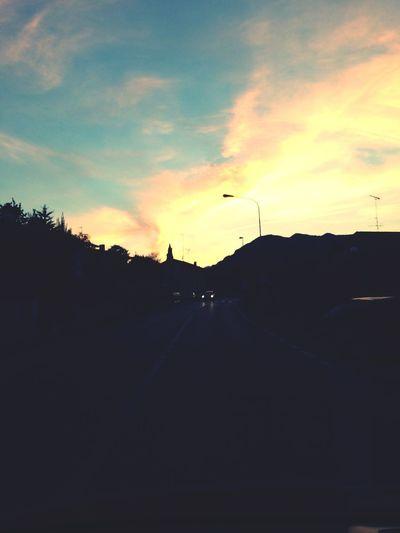 Sunset Poleo