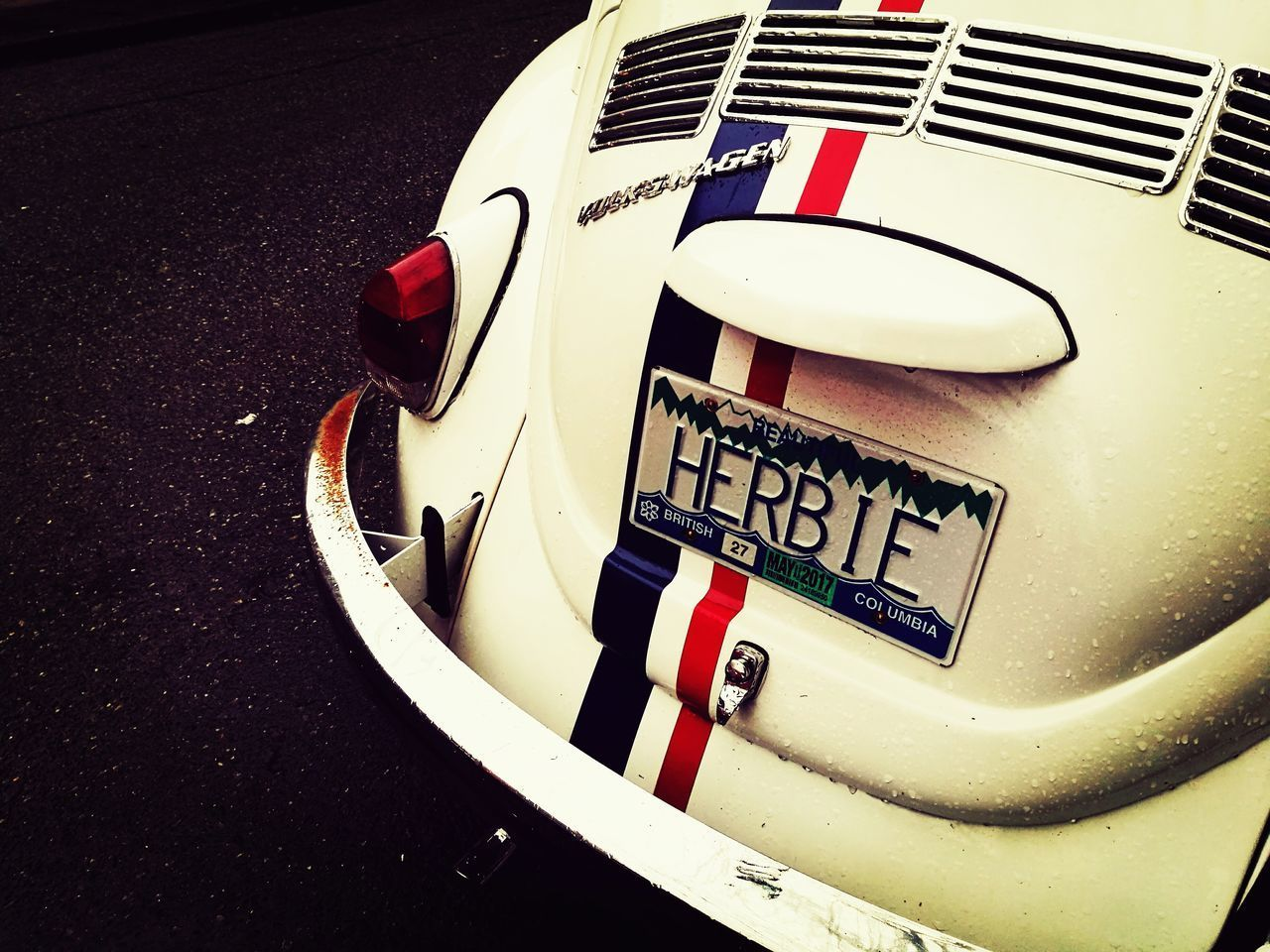 Close-up Car Oldtimer Vintage Moviestar Herbie Streetphotography Race Day No People Competition Urban Oldfashioned