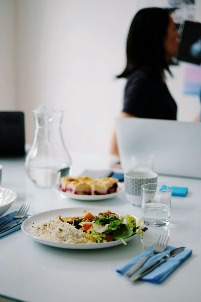 Food And Drink Food Plate Freshness Table Meal Ready-to-eat Healthy Eating Lunch Office Business Place Of Work Startup Teamwork