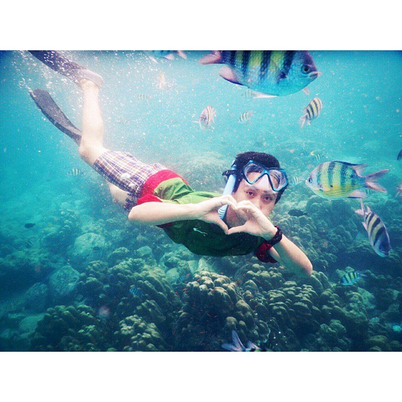 Snorkling Sabang island Iboh beach