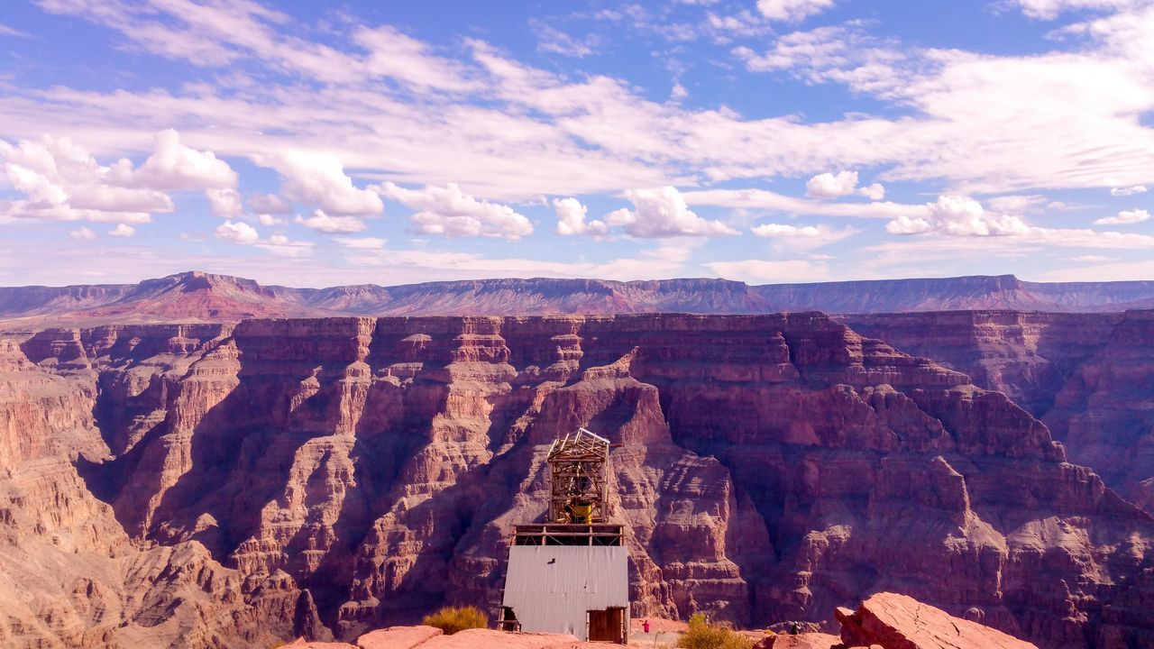 Grand Canyon West Rim USAtrip Amazing View Happytraveller Cloud - Sky Rock - Object Outdoors Travel Destinations Beauty In Nature Landscape Lightroom Wallpaper Wonderland Contrast Aroundtheworld Explore The World Dramatic Sky Cloudporn Bestshot Pornsky  Justfeelit FirstEyeEmPic EyeEmNewHere EyeEm Diversity