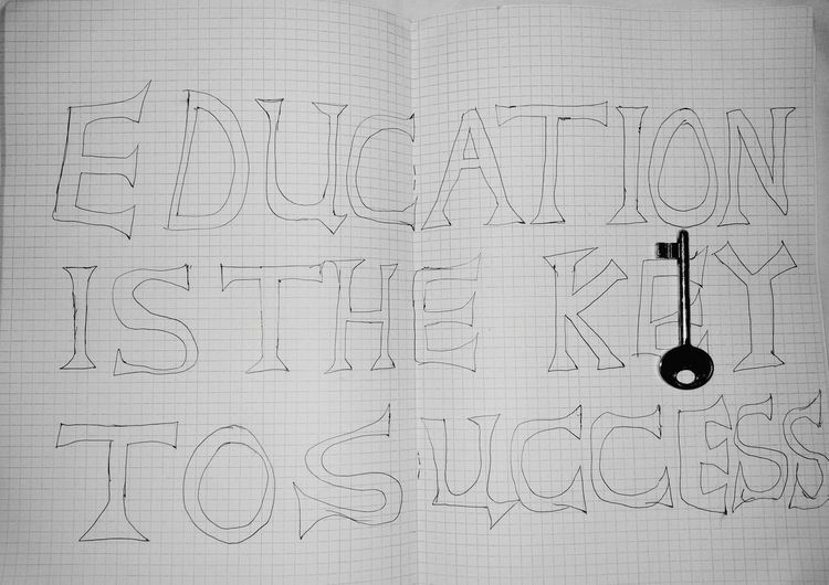 EyeEm Best Shots Education First Sucess Education Is The Key Key Book Cover Books