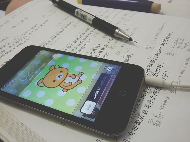 Almost everyday Studying Chinese IPod Touch Literature Workhardplayhard