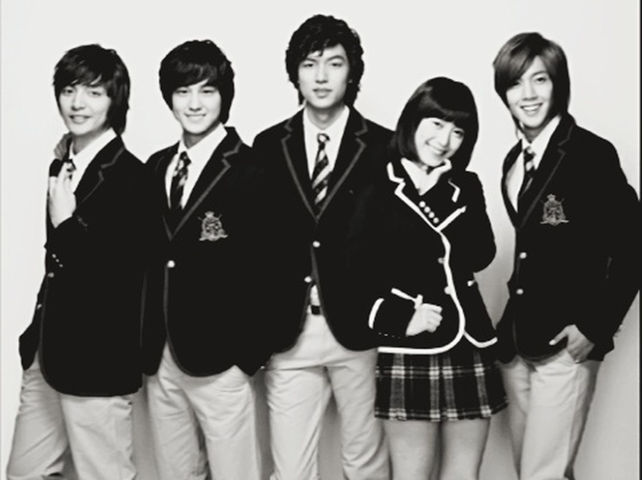 I always love boys before flowers??? Kimbum Leeminho Goohyesun Goojunpyo Geumjandi Yoonjiho Soyijung Songwobin Minsun F4korea