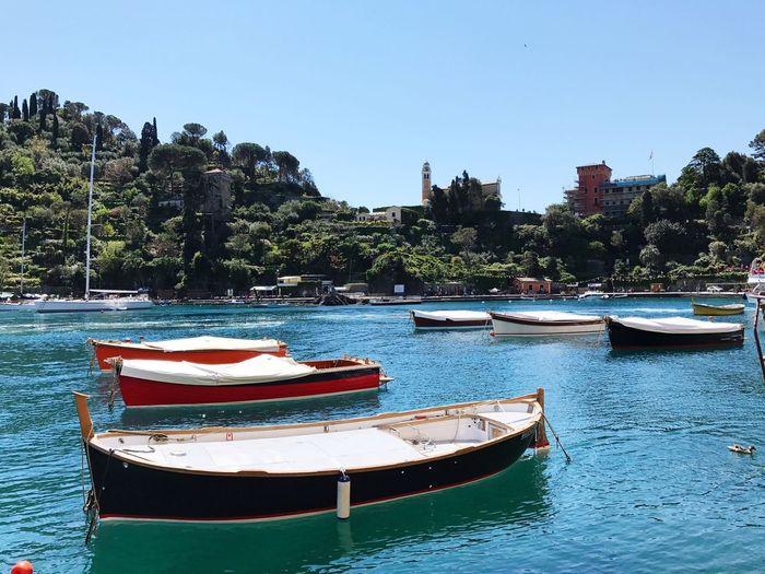 Italian Riviera Boats Sea Italy❤️ Traveling