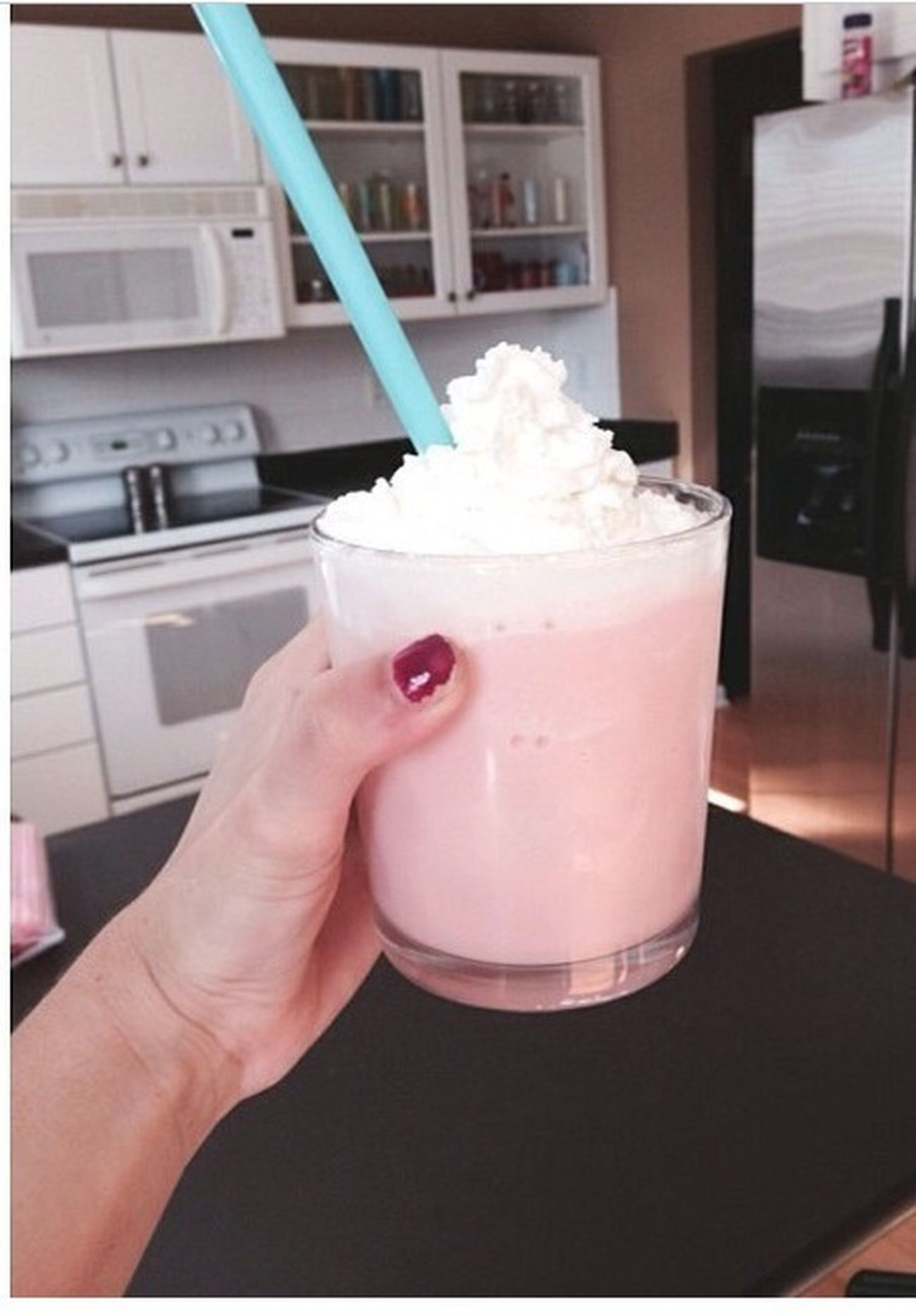 homemade cotton candy frape Starbuckssecrets Girls Love