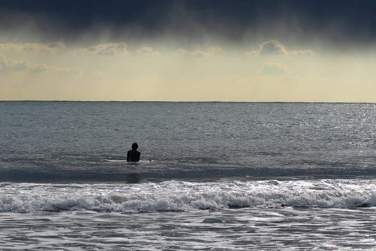 江の島 江ノ電 湘南 海 サーファー G1X MarkII 波