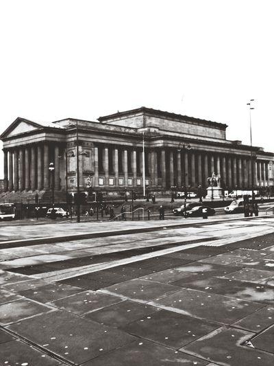 St George's, Architecture Blackandwhite Liverpool
