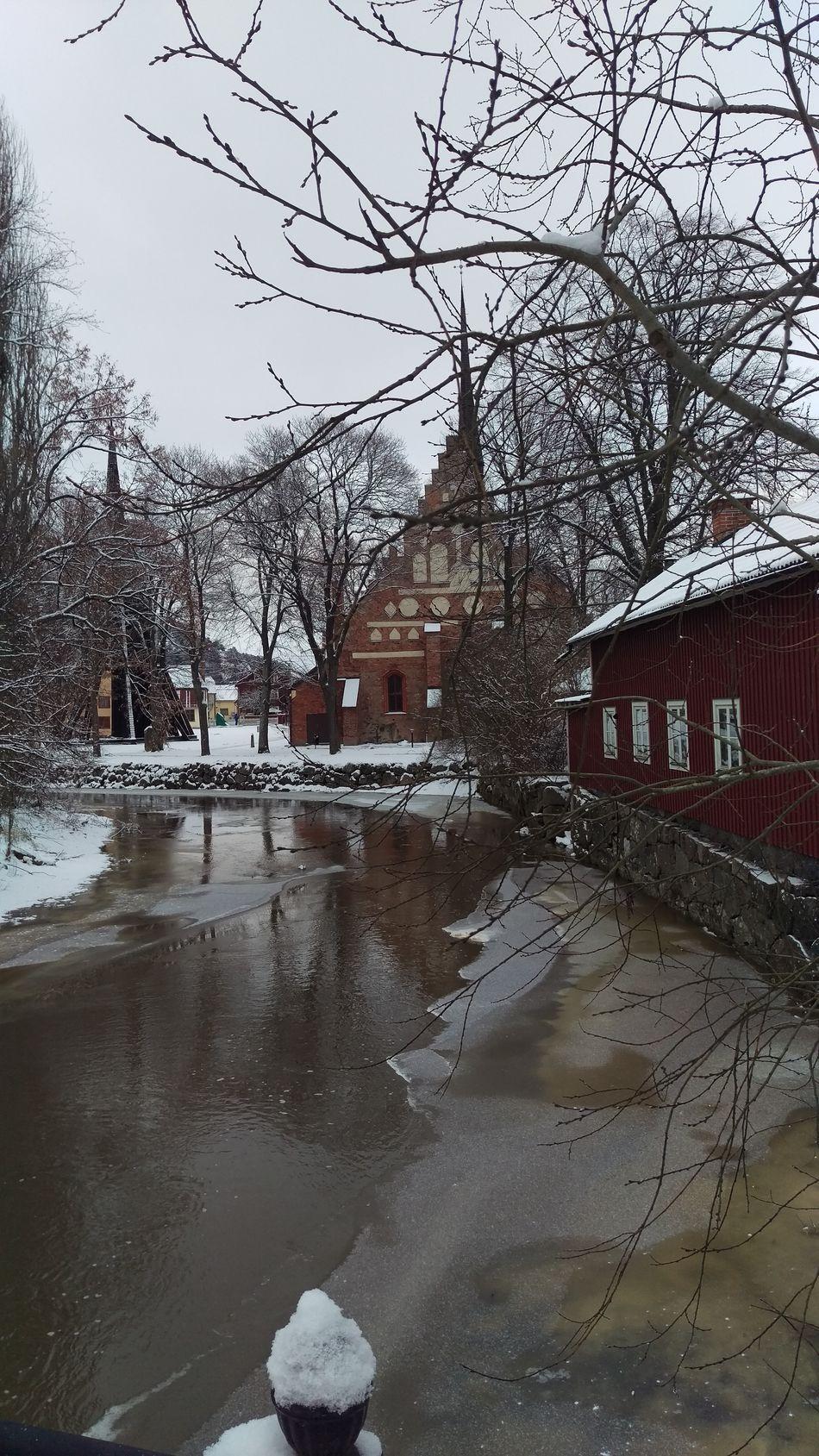 It's Cold Outside Söderköping Sweden Scandinavia Sverige Nortern Europe Cold Winter Wintertime Snow Snow ❄ Cityscape