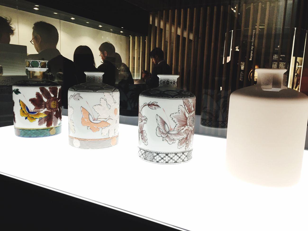 響35年 九谷焼ボトルの作成工程 六本木アートナイト