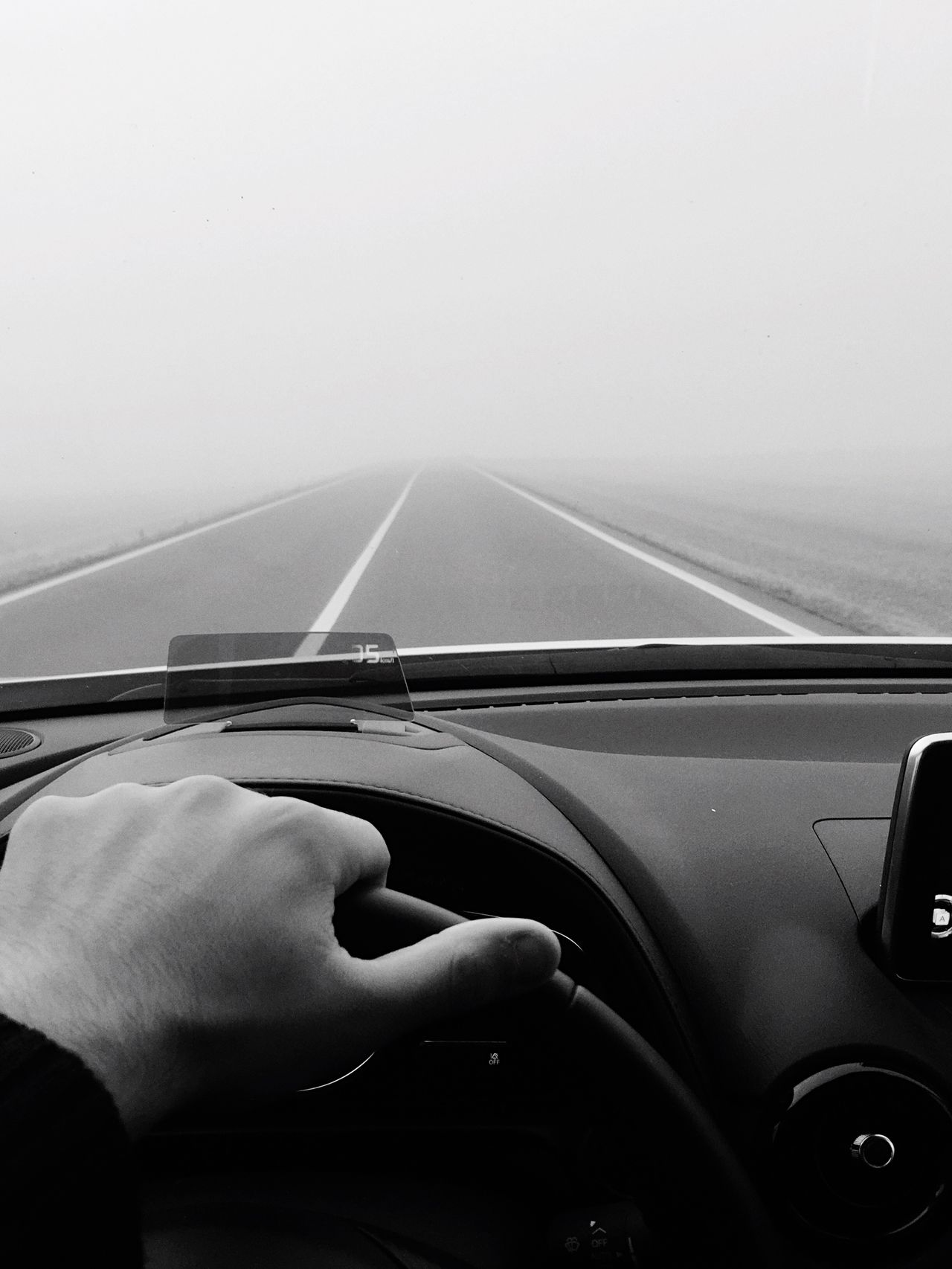The Drive Unknown Journey Fog Foggy Morning Life foggy road is like a life, you have to keep moving but not even know what is waiting you behind the corner...