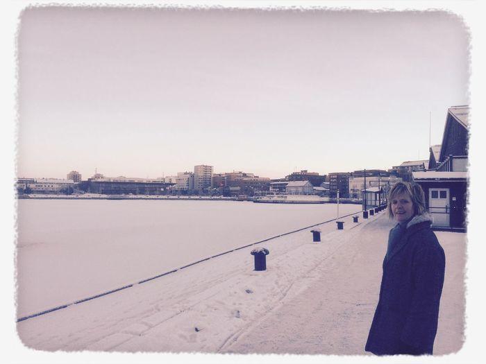 Winter Walking Around