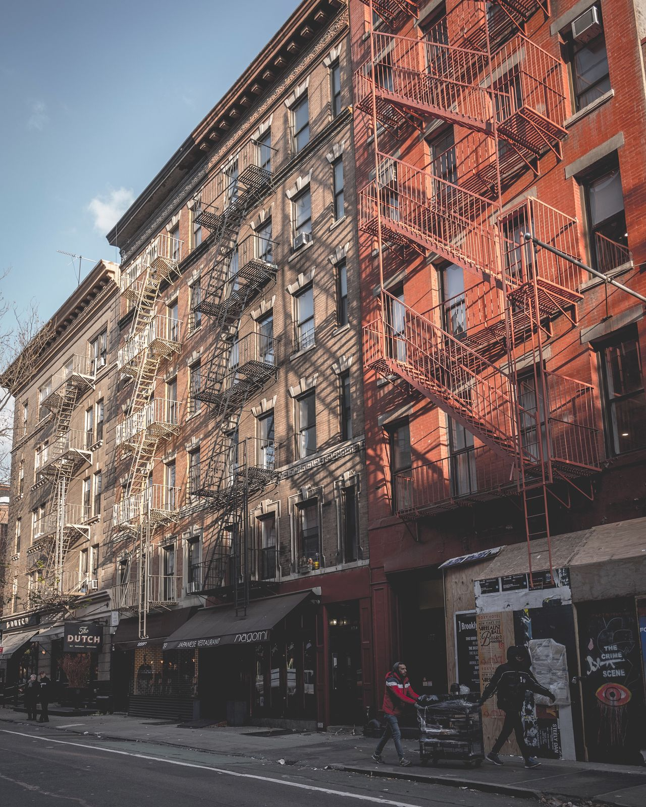 Architecture Building Exterior Built Structure City Real People Outdoors Day Women Men Sky One Person Fire Escape