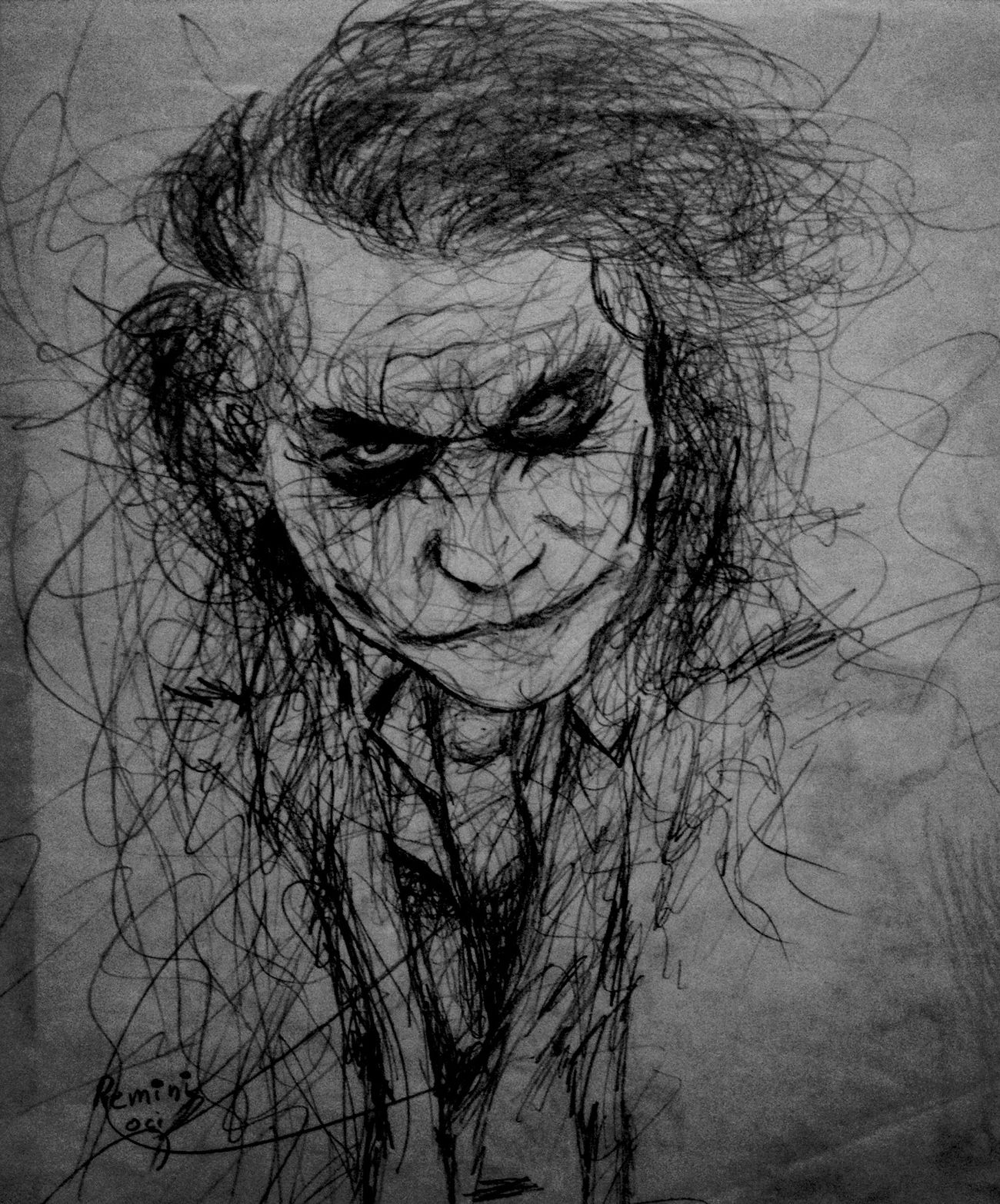 Let's put a smile on that face Actor Drawing Art ArtWork