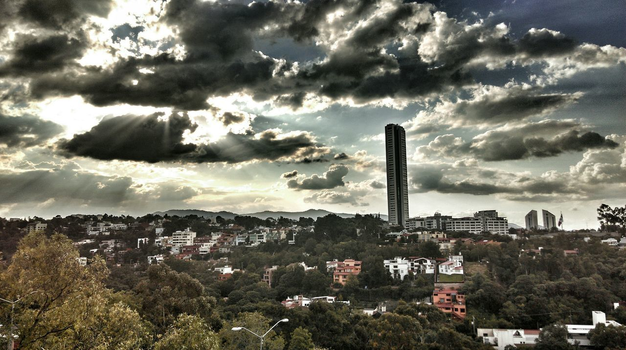 Darkness And Light Sun&Clouds Hdr_Collection Mexico City Santafe Hola! Stand Out From The Crowd Embraceurbanlife?