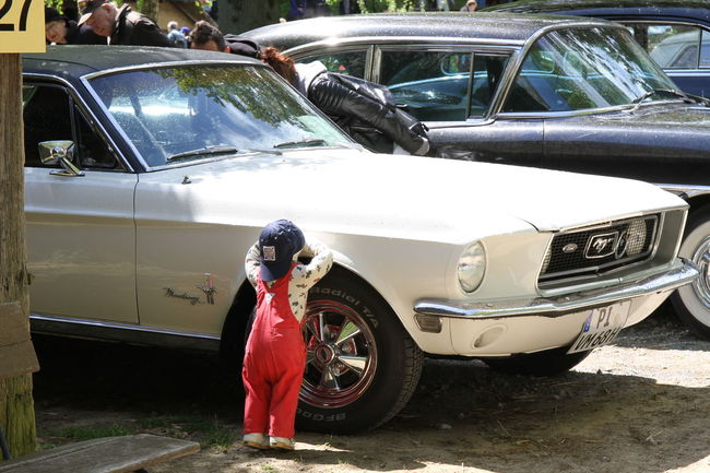 Child Ford Mustang Mobility Oldtimer Oldtimertreffen Outdoors Sports Car US Cars