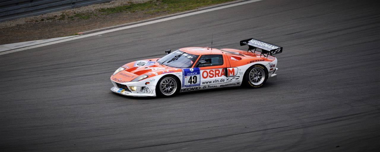 Auto Racing Competition Day Driving Ford Ford GT 40 Ford Racing Motorsport No People Osram Professional Sport Racecar Racing Racing Car Sport Sports Race VLN Vln Langstreckenmeisterschaft