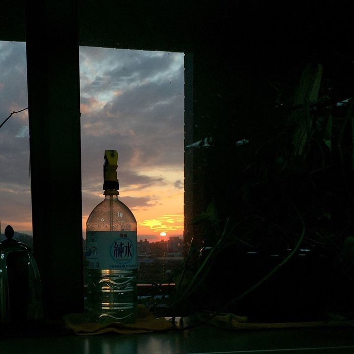 Bottle No People Sky Beauty In Nature 終於結束的起點 Urban Lifestyle Sunset Taking Photos EyeEm Best Shots City Taiwan Beautiful View IPhone Photos Sunset And Clouds  Moment OpenEdit 後腦勺的夕陽 毎日仕事終わり前に Cloud - Sky Nature 毎日の夕日 Every Day EyeEm Best Shots - Nature