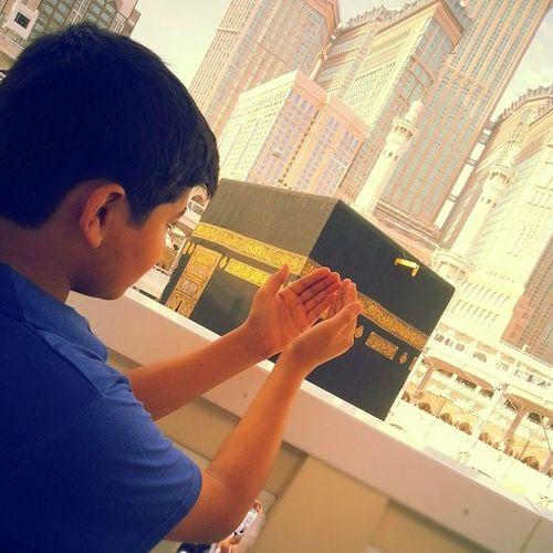 """Ya """"ALLAH"""" Don't let me die until You are satisfied with me. AMEEN!!! Omra Ka 'abahMakkah Praying dua'aDeenafghanAllah"""
