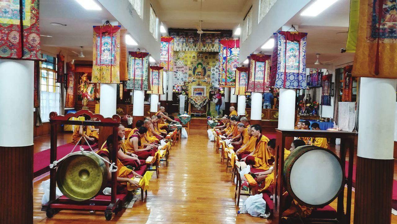 Indoors  No People Day Tibetan Buddhism Tibetan Culture Tibetan Buddhist Temple