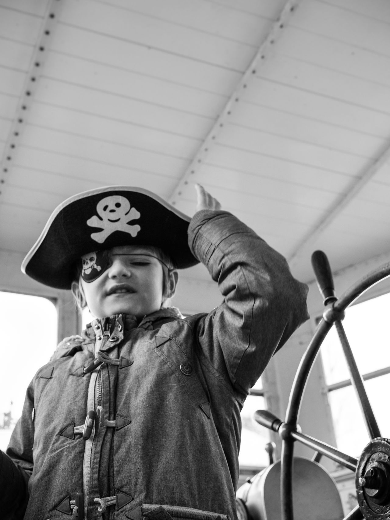 Beautiful stock photos of pirate, 6-7 Years, Attitude, Boat, Boys