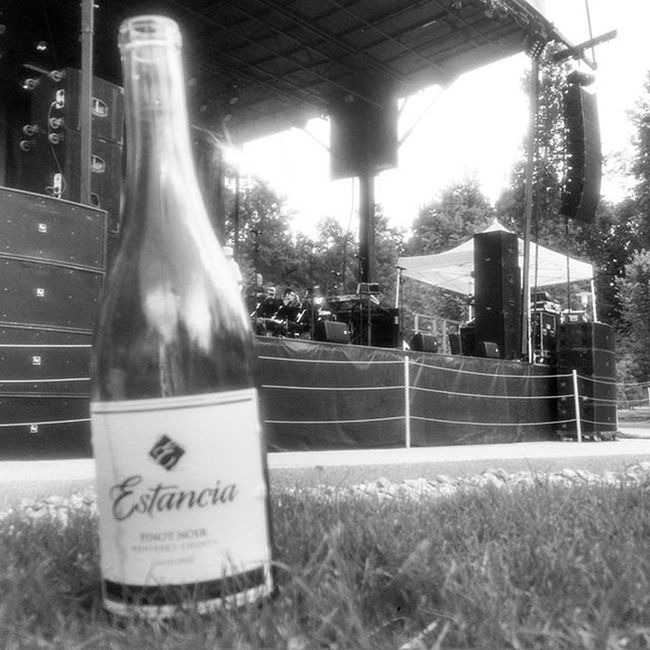A bottle of wine while I wait for TheTemptations