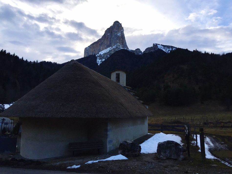 Montaiguille Aiguille Mont Vercors First Eyeem Photo France French AlpesFrancaises Architecture Mountain Nature Snow No People Sky Mountain Range Tree Winter Beauty In Nature Cold Temperature Outdoors Day