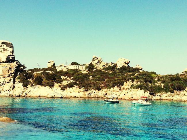 Sardaigne Sardinia Mer Rocher Eau Turquoise Italie