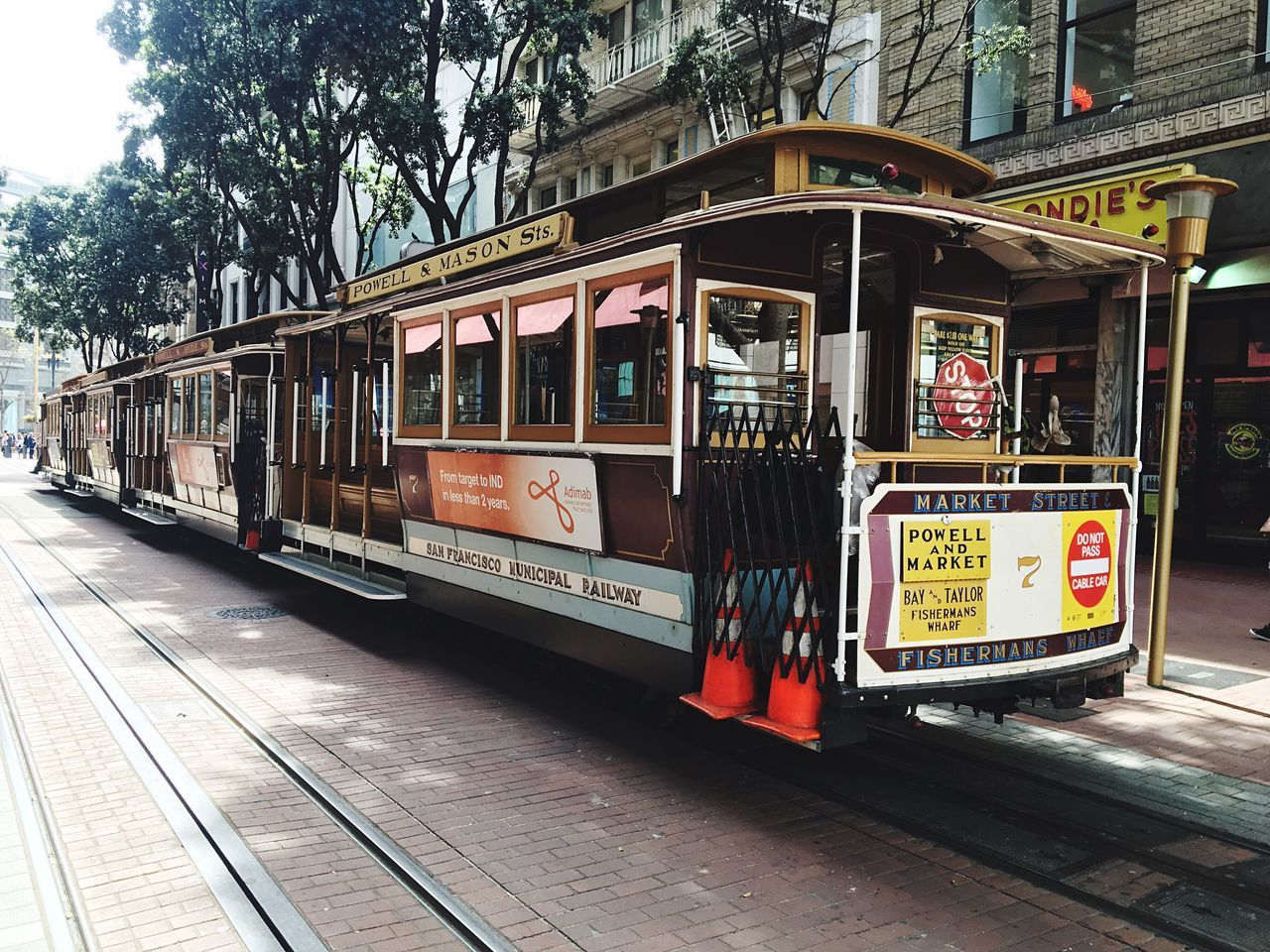 Iphonephotography IPhone Photography IPhoneography Transportation Tree Train - Vehicle Public Transportation City Outdoors Land Vehicle Day No People