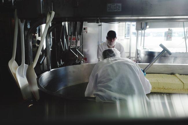 Cheese Craftsmanship  Manufacturing Working Hard