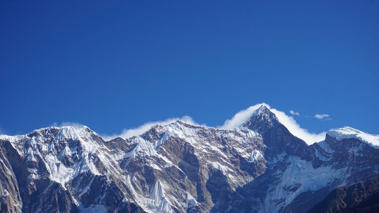 Tibet Namjagbarwa Mountain
