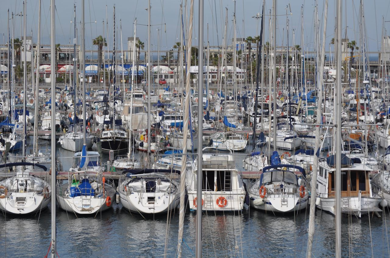 Nautical Vessel Water Moored Harbor Transportation Mast Sailboat Sea Mode Of Transport Commercial Dock Outdoors No People Yacht Nature Day Regatta Yachting