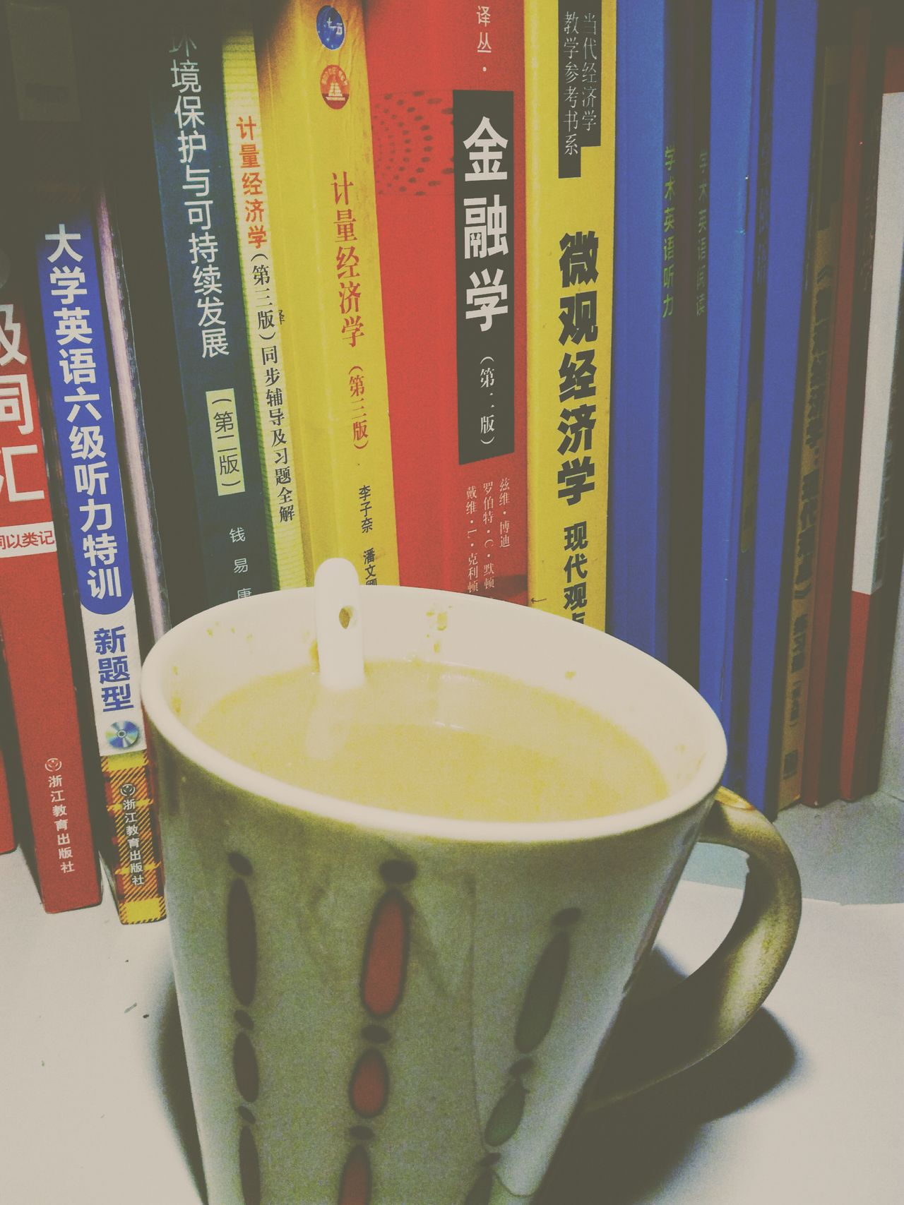 Coffee ☕ No People Close-up Day Studying Hard 熬夜 Indoors
