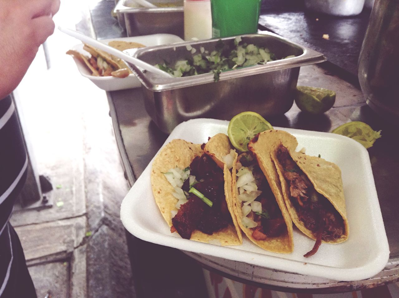 Time For Breakfast  once in a while is not bad... Eating Tacos Ipodphotographer OpenEdit Popular Photos The Foodie - 2015 EyeEm Awards Streetphotography Monday Good Morning Show Us Your Takeaway!