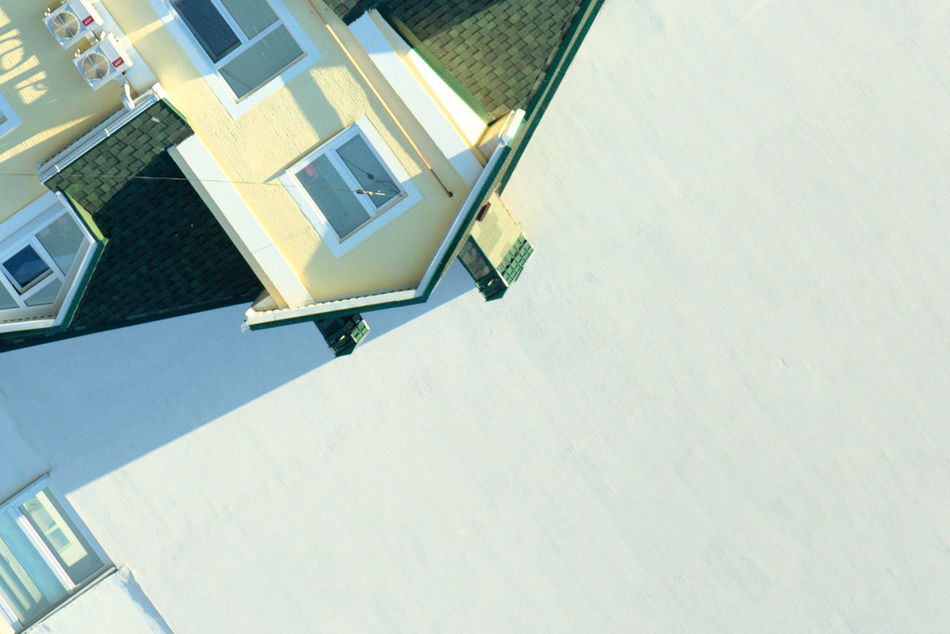 Minimalism Roof Abstraction Art Building Color Decoration Flipped Over House House Roof Housetop Reverse Window дом крыша окна EyeEmNewHere Minimalist Architecture EyeEm Diversity