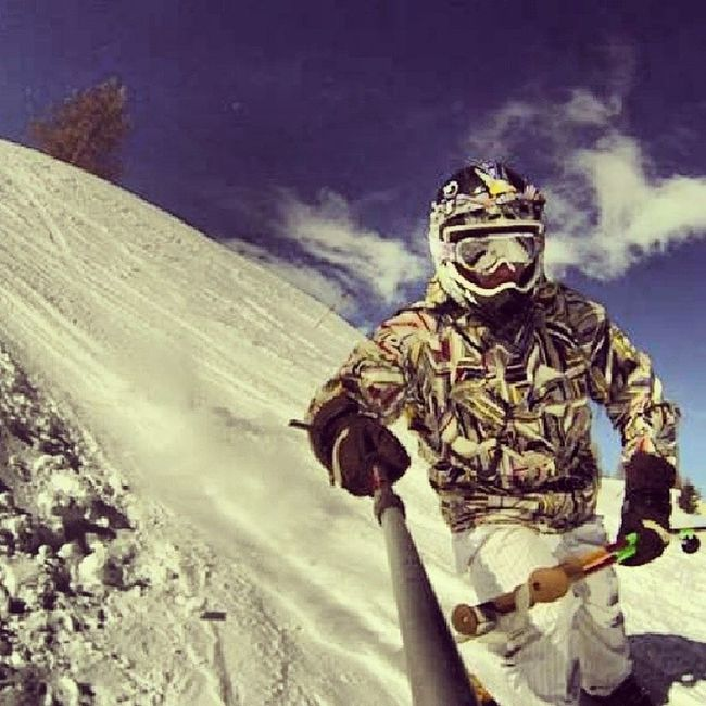 Ski France Valdeallos Praloup lafouxgopro3herogoprowinter