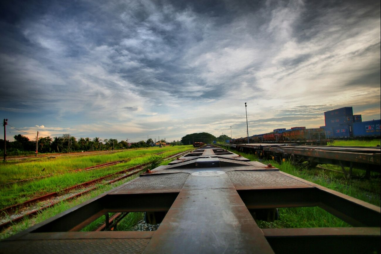 post-wedd shoot trial Port Klang Old Train Station HDR