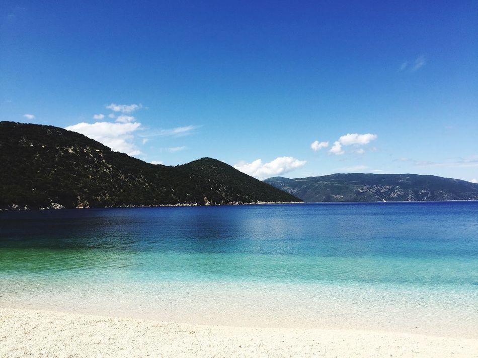 Antisamos Antisamosbeach Kefalonia, Greece Kefalonia Ioniansea Clear Water Crystal Clear Good Morning