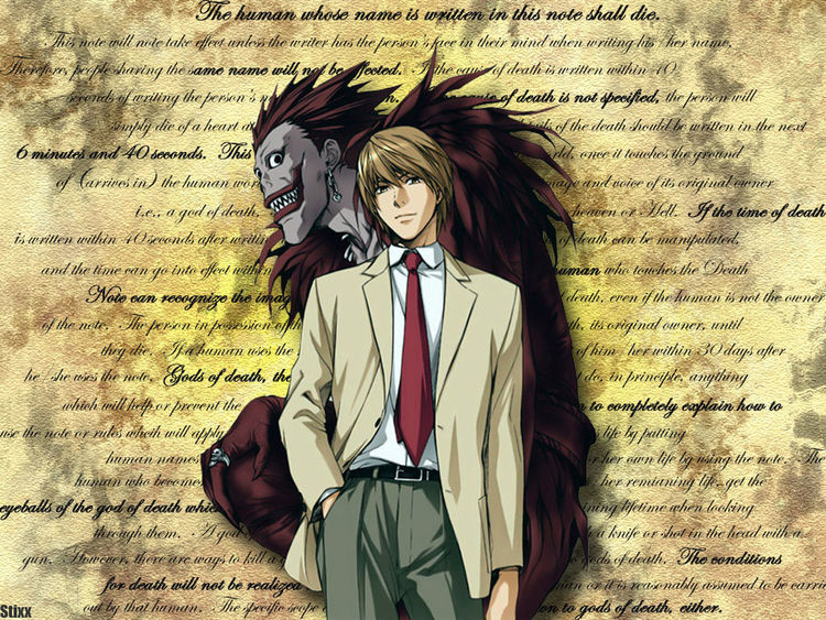Death Note one of the best Anime better than Code Geass or Attack On Titan